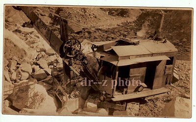 Old Photo Osgood Steam Shovel at Cavetown Quarry Maryland  ca. 1930