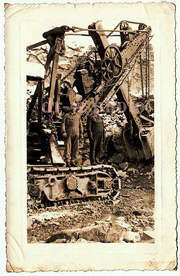 Old Photo Marion Electric Shovel at Cavetown Quarry Maryland 1938