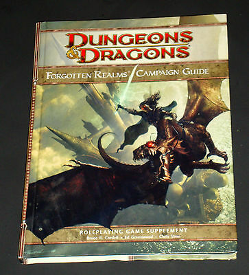 Dungeons & Dragons  Forgotten Realms Campaign Guide 3.0/3.5  RPG D20 WOTC