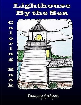 Lighthouse By the Sea: Coloring Book