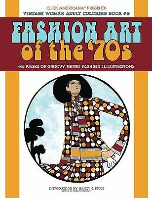 Vintage Women: Adult Coloring Book: Fashion Art of the 70s