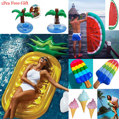 Summer Swimming Pool Giant Inflatable Swim Float Summer Beach Water Raft