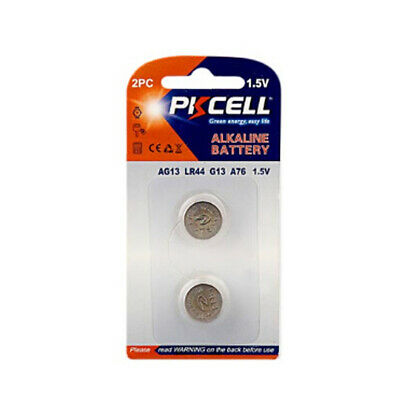 50x 1.5V AG13 LR44 L1154 A76 357 Alkaline Button Coin Cell Battery for Watch