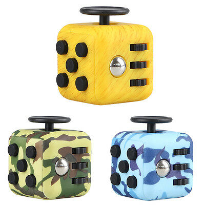 Magic Fidget Cube Toy Anxiety Stress Relief Focus 6-side Gift For Adults&Child