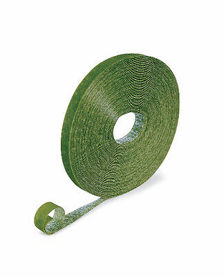 Velcro style Plant Tape Green Weatherproof Gentle Support for Plants - Reusable