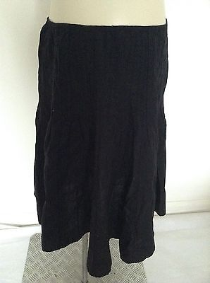 [324] Cherokee Black Skirt Size 10 Not Maternity but used as previously