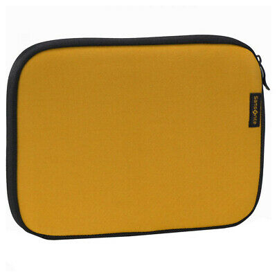 """Samsonite Classic MacBook Laptop Sleeve Bag Case Pouch Cover 14"""" Yellow"""