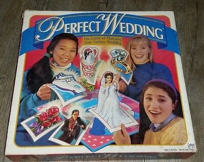 Vintage 1993 Perfect Wedding  Board Game COMPLETE