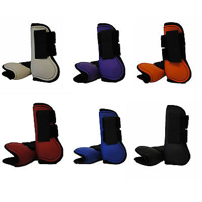 Great Quality Nylon Neoprene Horse Tendon Boot Full 6 Colours Available