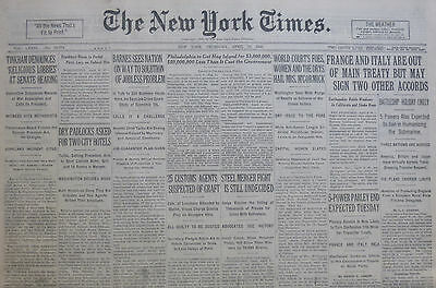 GANDHI TO SPREAD HIS GOSPEL BY AUTO - FRANCE & ITALY OUT TREATY 4-1930 April 10