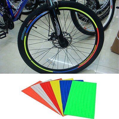 Reflective Stickers for Bike Bicycle Motorcycle Wheel Tyre