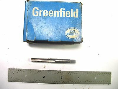 New Usa Made Greenfield 1/4-32 4 Flute Bottoming Tap