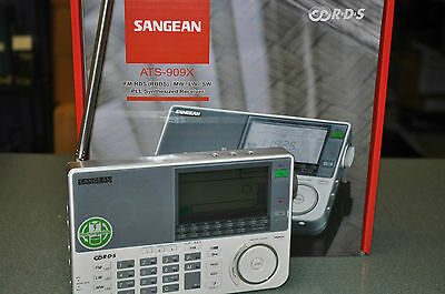SANGEAN ATS-909X  PORTABLE COMMUNICATIONS RECEIVER (153KHz-30MHz / 76-108MHz)