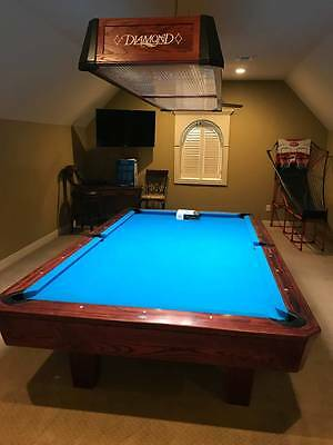 FT DIAMOND Billiards Pool Table Light PicClick - 9ft diamond pool table
