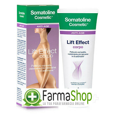 SOMATOLINE LIFT EFFECT rassodante CORPO 200ml