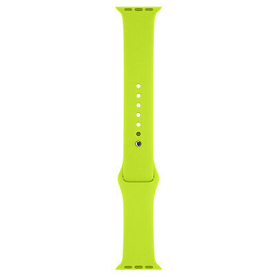 Genuine Apple Watch Sport Band MJ4U2ZM/A - 42mm, Green, Stainless Steel Pin - NO