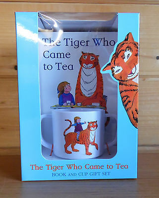 The Tiger Who Came To Tea by Judith Kerr - Book and Cup Gift Set