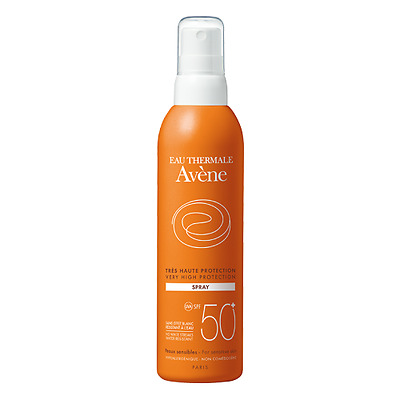 AVENE Crema Solare Spray SPF50+ 200ml fotoprotettore resistente all'acqua