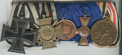 German Imperial China Boxer Rebellion Campaign Medal 5 Place Mount