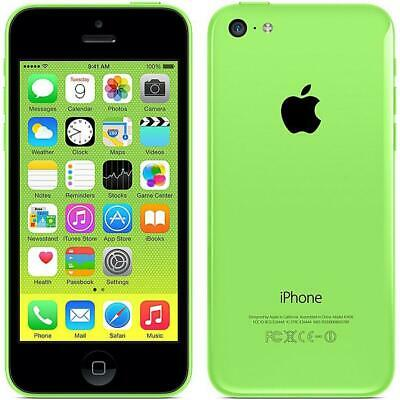 Apple iPhone 5C 16GB Unlocked GSM AT&T T-Mobile 4G LTE Smartphone - White