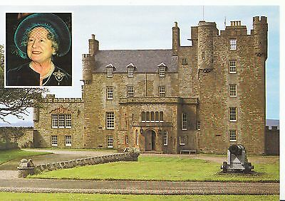 Scotland Postcard - Queen Mother and The Castle of Mey - Caithness   SM344