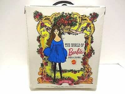 1968 The World Of Barbie Doll Case With Barbie & Ken Dolls And Clothes