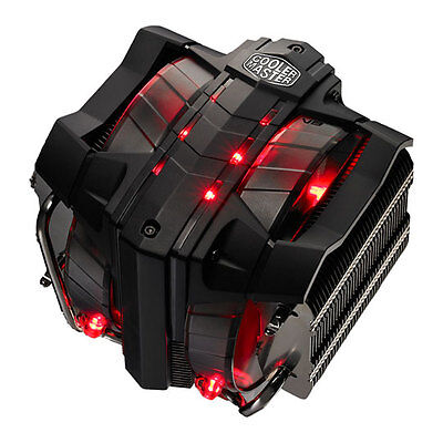 Cooler Master V8 Ver.2 Triple Tower CPU Cooler, 8 Heatpipes, Vapor Chamber, Inte