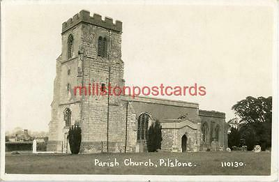 Real Photographic Postcard Of Pitstone Church, (Near Aylesbury), Buckinghamshire