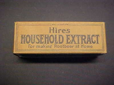HIRES ROOT BEER Boxed Household Extract For Home Unused