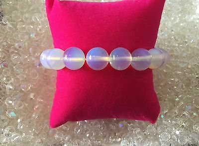 00417  ANGEL COMMUNICATIONS Opalite  Infused Bracelet CACR REALM Doreen Virtue