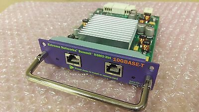 Extreme Networks XGM2-2BT X450 X350 Dual Port 10Gbps 10GBase-T Module 16115 10G