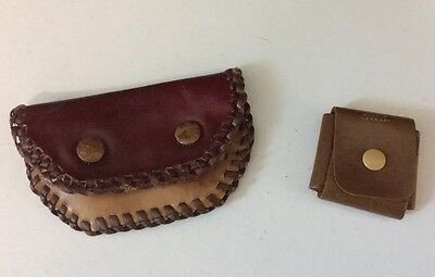 2 Vintage/Antique Coin Purses (??) - One Stamped Made in Germany