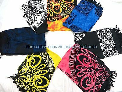 5pcs tattoo tribal sarong celtic Cover Up For Swimsuit wholesale summer clothing