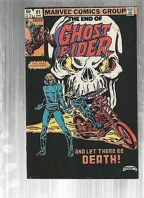 Ghost Rider 81   LAST ISSUE!!