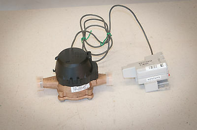 """Badger Model LP Water Meter 5/8"""" x 3/4"""" Cubic Feet, with Control NEW!"""