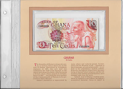 Most Treasured Banknotes Ghana 1978 10 Cedis P16f UNC Birthday 1980 A/2 1019809