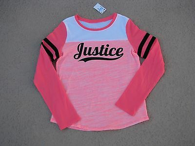 """Justice Nwt Girls Sz 12 Shirt - """"designed Exclusively For You With Love"""" -Cute!!"""