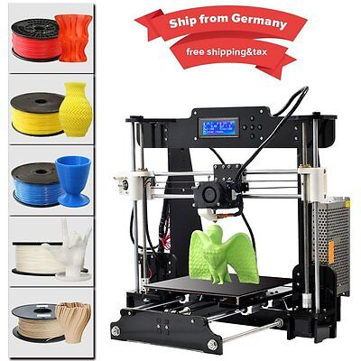 Anet A8 3D Printer DIY i3 Upgradest High Precision Reprap Prusa 3d Drucker DE