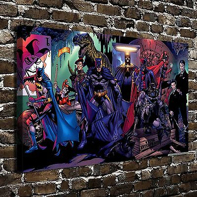 """12""""x20""""Batman Paintings HD Print on Canvas Home Decor Wall Art Picture posters"""