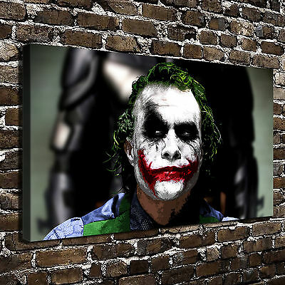 "12""x20""DC Batman Joker Paintings HD Print on Canvas Home Decor Wall Art Picture"