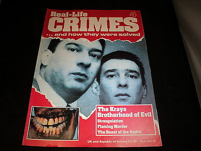 Real Life Crimes - Issue 4 The Krays Brotherhood of Evil