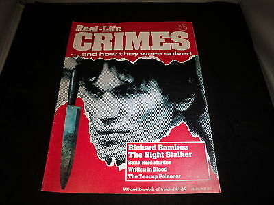 Real Life Crimes - Issue 6 Richard Ramirez The Night Stalker