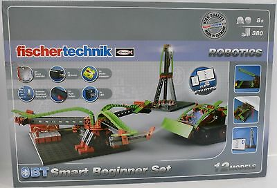 **NEU** fischertechnik 540586 ROBOTICS BT Smart Beginner Set Bluetooth **OVP**