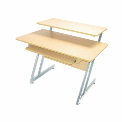On Stage WS7500 Series Wood Workstation (Maple/Gray Steel)