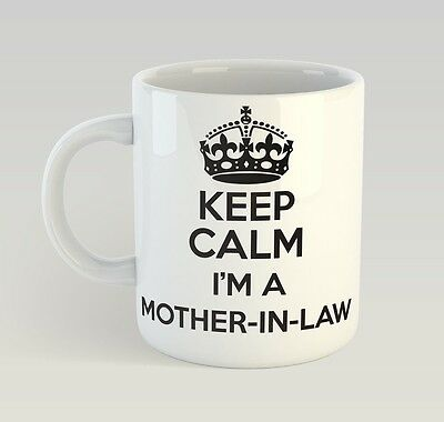 Keep Calm I'm A Mother-In-Law Mug Funny Birthday Novelty Gift