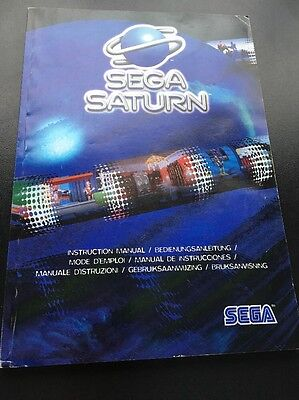 SEGA Saturn Instruction Manual
