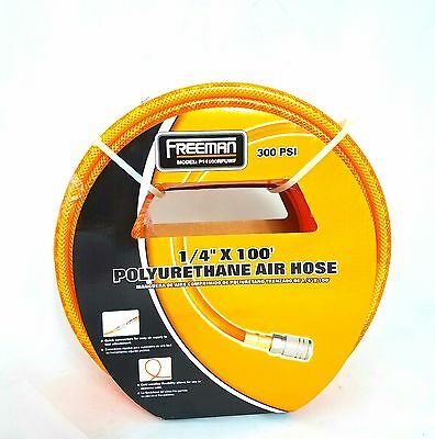 Freeman Polyurethane Air Hose 100-Feet with Fittings **Manufacurer-Direct**
