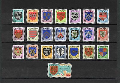 Jersey Selection of 22 Stamps