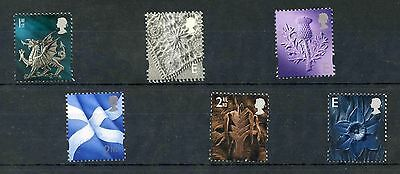 Regionals. SG W84, N191, S96, S94, W83 and W85. MNH