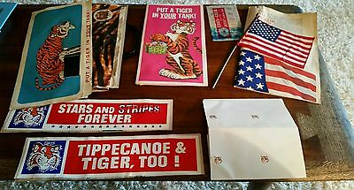 Lot of Vintage ENCO ESSO HUMBLE Oil Advertising Promotional Items Petroliana